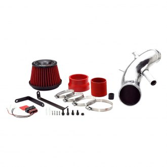 APEXi® - Super Suction Short Ram Air Intake System with Red Filter