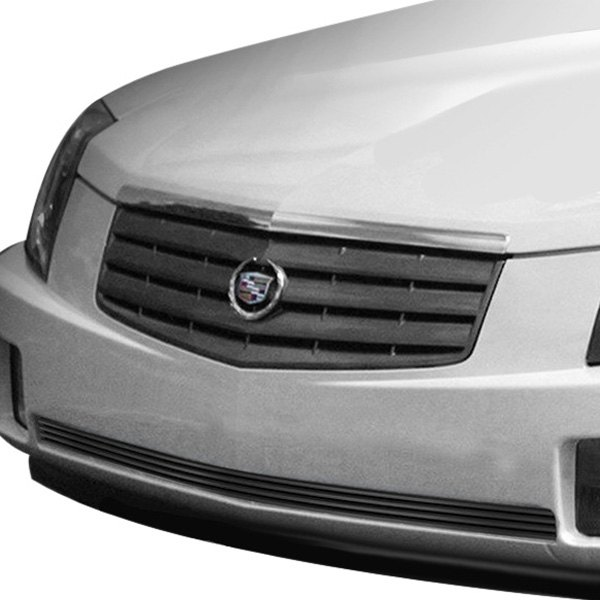 Cadillac CTS 2003-2007 1-Pc Black Horizontal Billet
