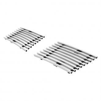 APG® - 2-Pc Brushed Horizontal Billet Bumper Grille