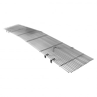 APG® - 1-Pc Phantom Style Brushed Horizontal Billet Main Grille