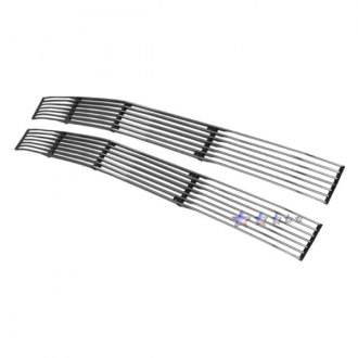 APG® - 2-Pc Phantom Style Polished Horizontal Billet Grille