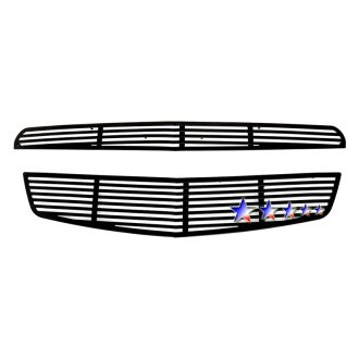 APG® - 2-Pc Black Horizontal Machined Perimeter Main Grille