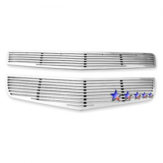 APG® - 2-Pc Polished Horizontal Machined Perimeter Main Grille