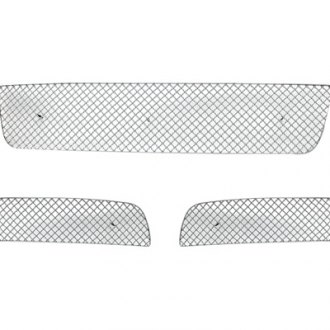 APG® - 3-Pc Chrome Wire X Mesh Bumper Grille