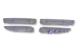 APG® D66866A - 4-Pc Polished Horizontal Billet Main Grille
