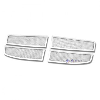 APG® - 4-Pc Chrome Wire Mesh Main Grille