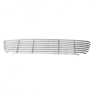 APG® - 1-Pc Polished Horizontal Tubular Bumper Grille