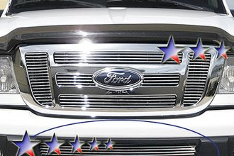 APG® F85343A - Polished Horizontal Billet Bumper Grille