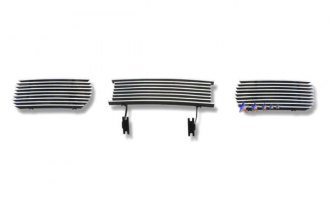 APG® F85388A - 3-Pc Polished Horizontal Billet Bumper Grille
