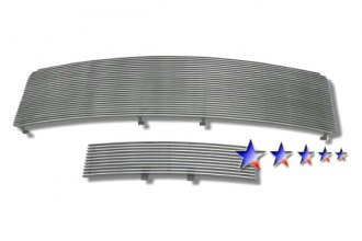APG® F86614A - Polished Horizontal Billet Main and Bumper Grille Kit