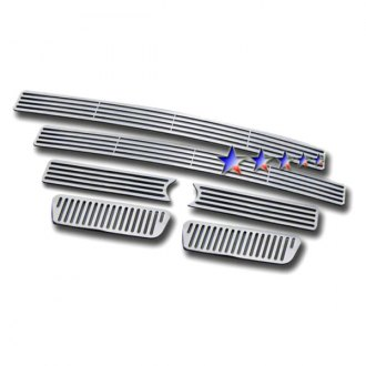 APG® - 6-Pc Polished Horizontal Machined Perimeter Main Grille