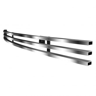 APG® - 1-Pc Brushed Horizontal Billet Top Bumper Grille