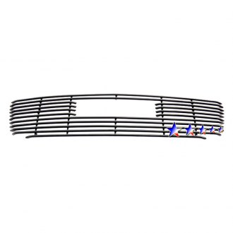 APG® - Black Horizontal Tubular Main Grille