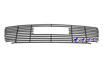 APG® - Black Horizontal Tubular Grille