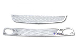 APG® H77124T - Chrome Mesh Main and Bumper Grille Kit