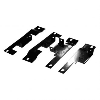 APG® - 4-Pc Black Horizontal Billet Hardware for Billet Grille