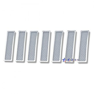 APG® - 7-Pc Chrome Wire Mesh Main Grille
