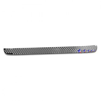 APG® - 1-Pc Round Holed Polished Sheet Bumper Grille