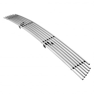 APG® - 1-Pc Brushed Horizontal Billet Bumper Grille