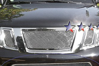 APG® N76575T - Chrome Wire Mesh Bumper Grille