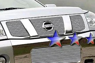 APG® N85413A - Polished Horizontal Billet Bumper Grille