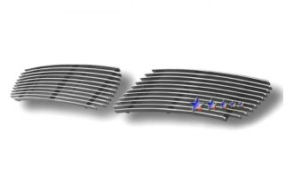 APG® N85601A - Polished Horizontal Billet Bumper Grille