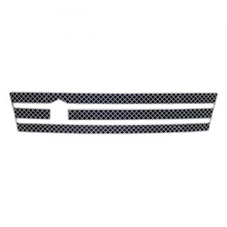 APG® - 1-Pc Chrome Wire X Mesh Bumper Grille
