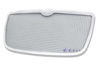 APG® R75300T - Plain Weave Style Chrome Wire Mesh Main Grille