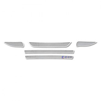 APG® - 5-Pc Chrome Wire Mesh Main and Bumper Grille Kit