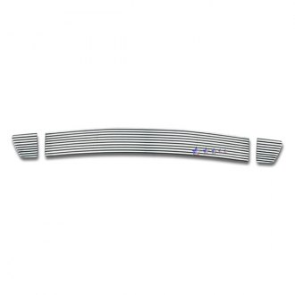 APG® - 3-Pc Polished Horizontal Machined Perimeter Bumper Grille