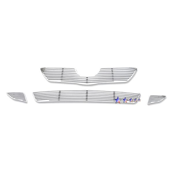 APG® - Polished Machined Perimeter Main and Bumper Grille Kit