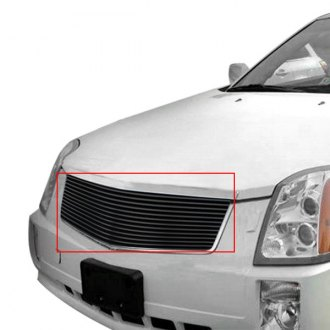APG® - 1-Pc Black Powder Coated Horizontal Billet Grille