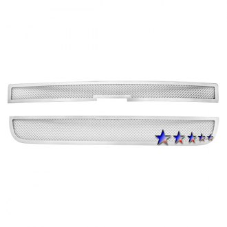 APG® - 2-Pc Chrome 1.8mm Wire Mesh Main Grille