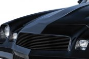 APG® - 2-Pc Black Powder Coated Horizontal Billet Main and Bumper Grille Kit