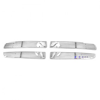 APG® - 4-Pc Symbolic Polished CNC Machined Main Grille