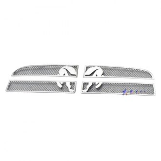 APG® - 4-Pc Symbolic Chrome CNC Machined Main Grille