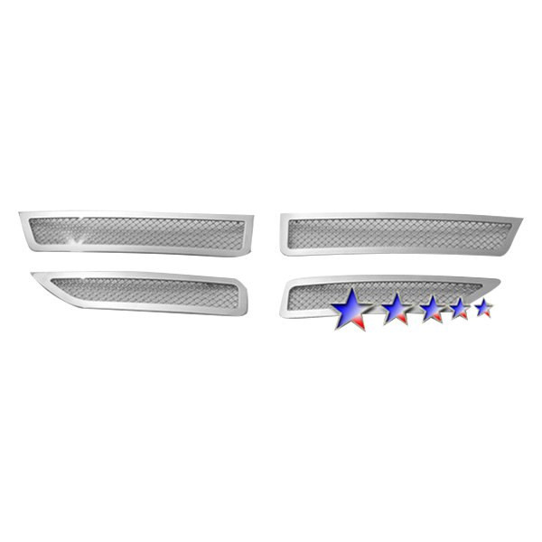 APG® - 4-Pc Chrome 1.8mm Wire Mesh Main Grille
