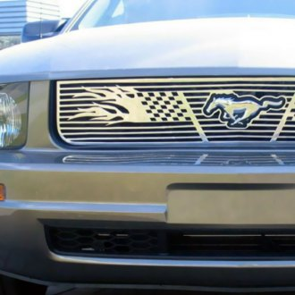 APG® - 1-Pc Symbolic Polished CNC Machined Main Grille
