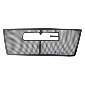 APG® - 1-Pc Black Powder Coated 1.8mm Wire Mesh Main Grille
