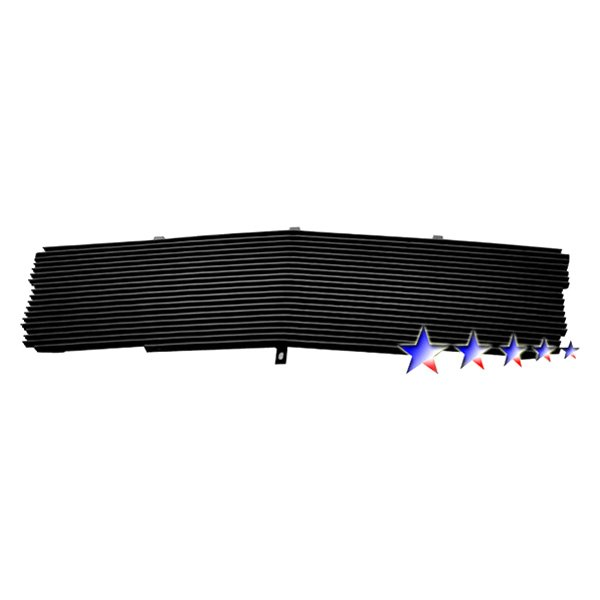APG® - 1-Pc Black Powder Coated Horizontal Billet Main Grille