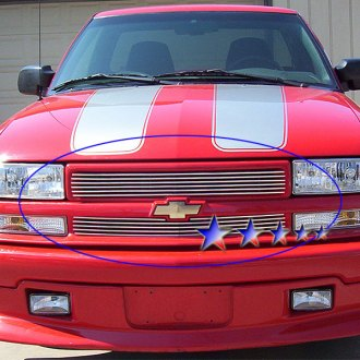 APG® - 2-Pc Polished Horizontal Billet Grille