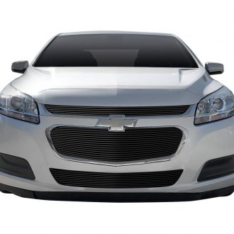 Fits 2014 2015 Chevy Malibu Lower Bumper Billet Grille Insert Ebay
