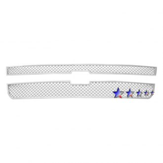 APG® - 2-Pc Chrome 2.5mm Wire Mesh Main Grille