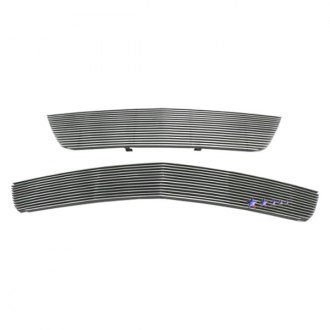 APG® - 2-Pc Polished Horizontal Billet Main and Bumper Grille Kit