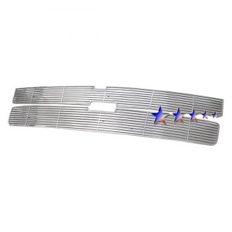 APG® - 2-Pc Perimeter Polished Horizontal CNC Machined Grille