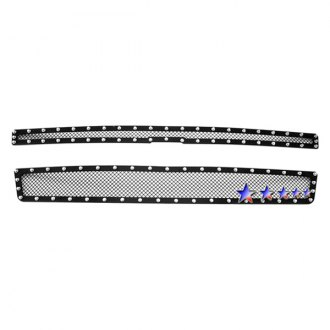 APG® - 2-Pc Rivet Style Black 1.8mm Wire Mesh Main Grille