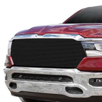 apg dodge ram 1500 new generation big horn laramie lone star tradesman 2020 1 pc black horizontal billet main grille apg 1 pc black horizontal billet main grille