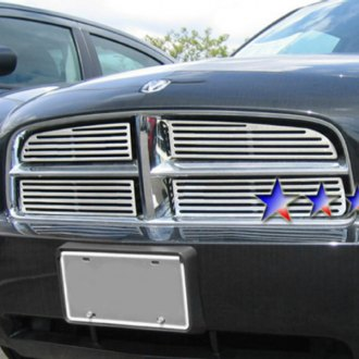 2010 Dodge Charger Custom Grilles Billet Mesh Led
