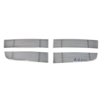 APG® - 4-Pc Perimeter Polished Horizontal CNC Machined Main Grille