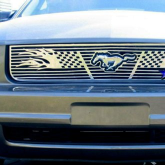 APG® - 1-Pc Graphic Symbolic Polished CNC Machined Main Grille